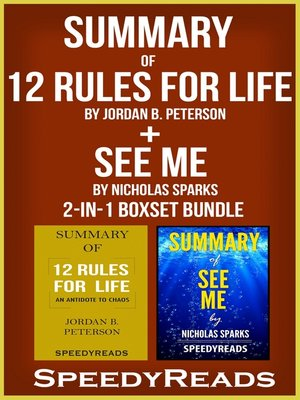 cover image of Summary of 12 Rules for Life