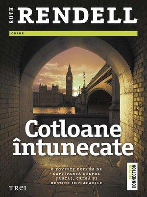 cover image of Cotloane întunecate