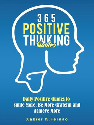 cover image of 365 Positive Thinking Quotes