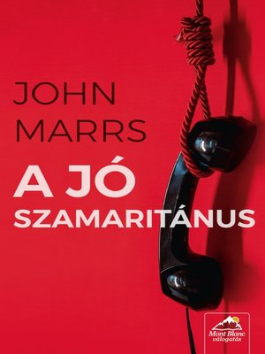 cover image of A jó szamaritánus