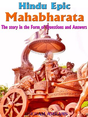 cover image of Hindu Epic Mahabharata