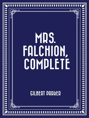 cover image of Mrs. Falchion, Complete