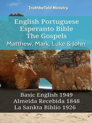cover image of English Portuguese Esperanto Bible--The Gospels--Matthew, Mark, Luke & John