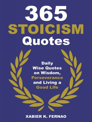 cover image of 365 Stoicism Quotes