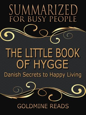 cover image of The Little Book of Hygge - Summarized for Busy People