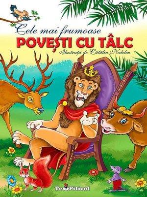 cover image of Cele mai frumoase povești cu tâlc