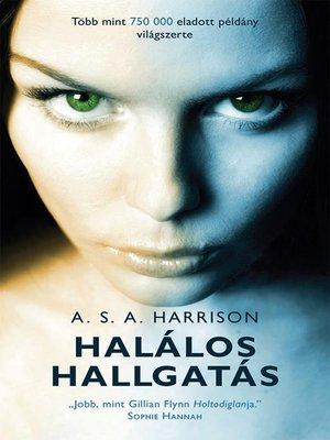 cover image of Halálos hallgatás