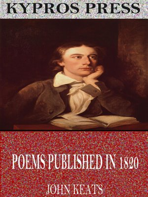 cover image of Poems Published in 1820
