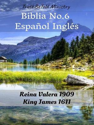 cover image of Biblia No.6 Español Inglés