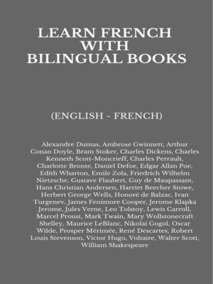cover image of Learn French with Bilingual Books