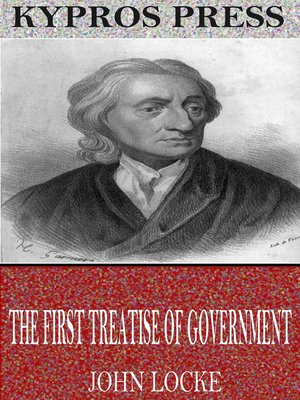cover image of The First Treatise of Government