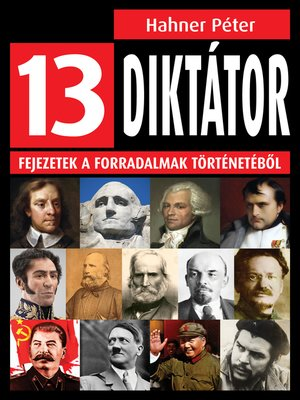 cover image of 13 diktátor