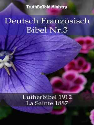 cover image of Deutsch Französisch Bibel Nr.3