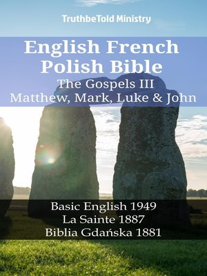 cover image of English French Polish Bible--The Gospels III--Matthew, Mark, Luke & John