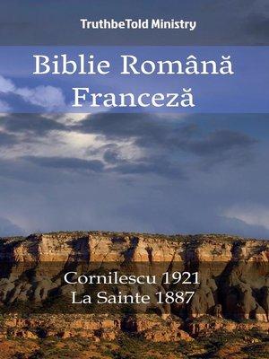 cover image of Biblie Română Franceză