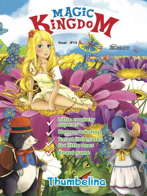 cover image of Magic Kingdom. Thumbelina