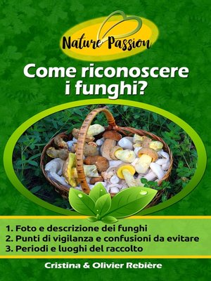 cover image of Come riconoscere i funghi?