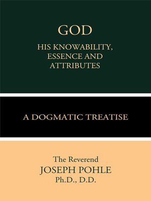 cover image of God: His Knowability, Essence, and Attributes