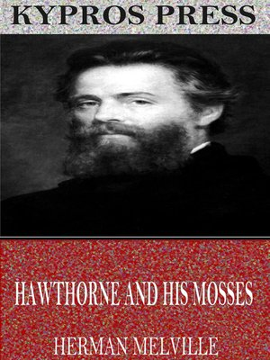 cover image of Hawthorne and His Mosses
