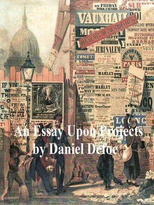 cover image of Essays Upon Projects