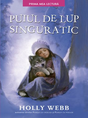 cover image of Puiul de lup singuratic