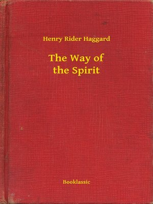 cover image of The Way of the Spirit