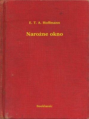 cover image of Narożne okno
