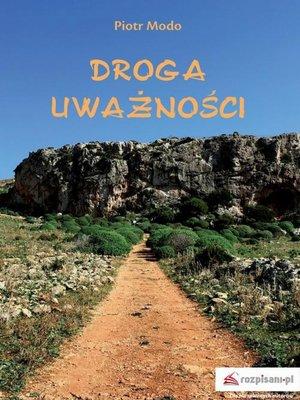 cover image of Droga uważności