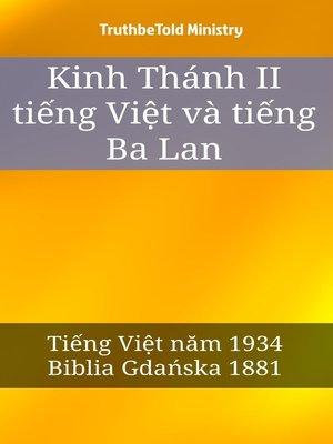cover image of Kinh Thánh II tiếng Việt và tiếng Ba Lan