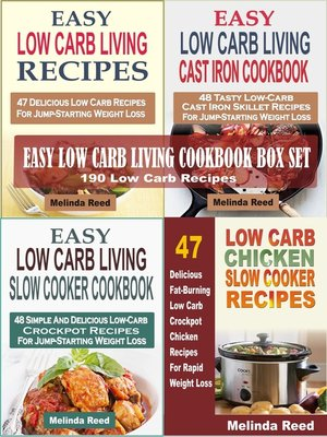 cover image of Easy Low Carb Living Cookbook Box Set