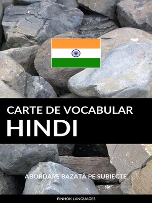 cover image of Carte de Vocabular Hindi