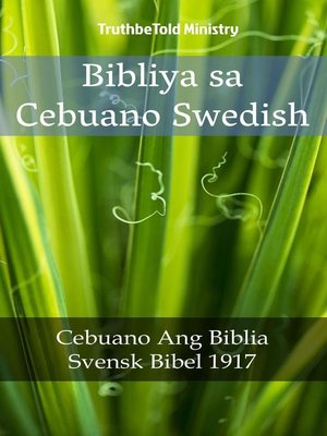 cover image of Bibliya sa Cebuano Swedish