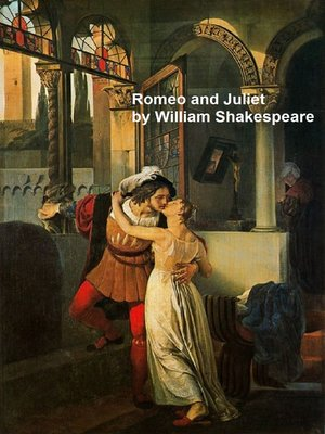 cover image of Romeo and Juliet, with line numbers