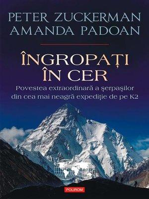 cover image of Îngropaţi în cer
