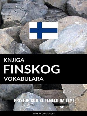 cover image of Knjiga finskog vokabulara