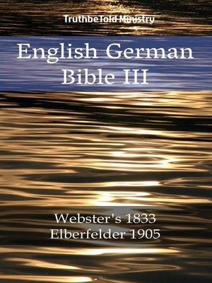 cover image of English German Bible III