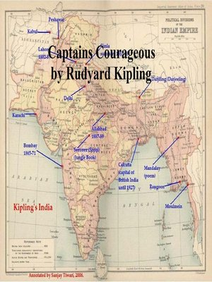 cover image of Captains Courageous