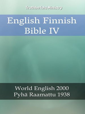 cover image of English Finnish Bible IV