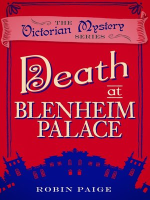 cover image of Death at Blenheim Palace