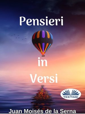 cover image of Pensieri In Versi