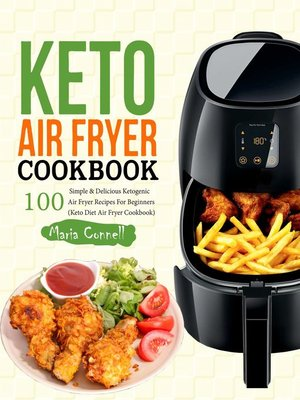 cover image of Keto Air Fryer Cookbook