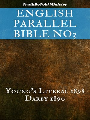 cover image of English Parallel Bible No3