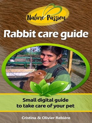 cover image of Rabbit care guide