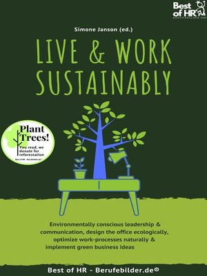 cover image of Live & Work Sustainably