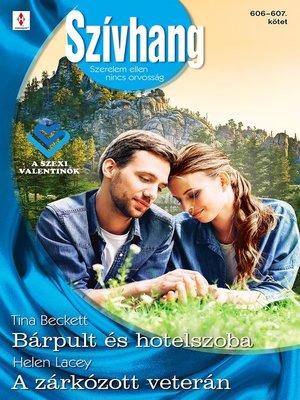 cover image of Bárpult és hotelszoba; A zárkózott veterán