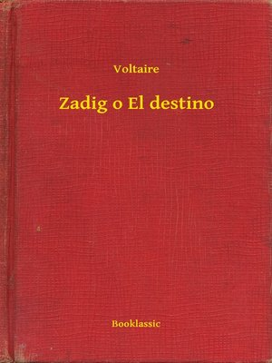cover image of Zadig o El destino