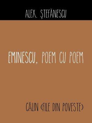 cover image of Eminescu, poem cu poem. Călin (File din poveste)