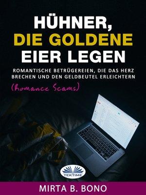 cover image of Hühner, Die Goldene Eier Legen