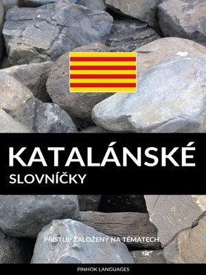 cover image of Katalánské Slovníčky