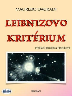 cover image of Leibnizovo Kritérium